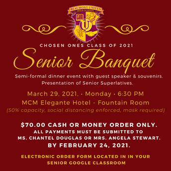 Purchase Your Senior Banquet Ticket!