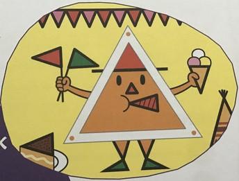 Meneertje driehoek!