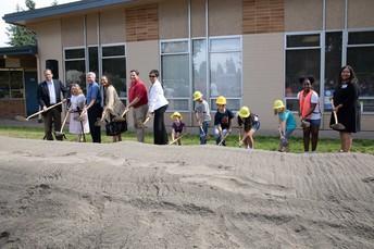 Lake Grove Elementary Groundbreaking
