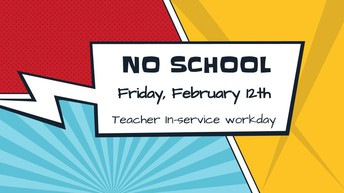 NO SCHOOL :: Teacher In-Service workday