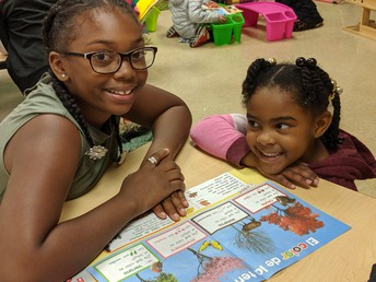 5th & Kindergarten Buddy Reading!