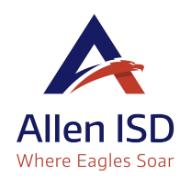Reminder- Allen ISD Resources
