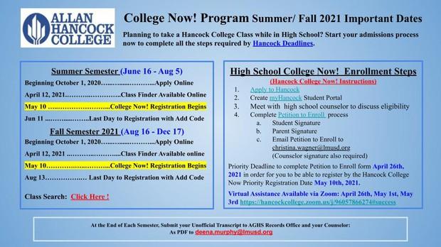 Summer College Now