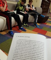 I'm reading with some 6th graders