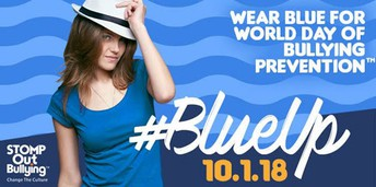 Blue Out against Bullying - Oct. 1