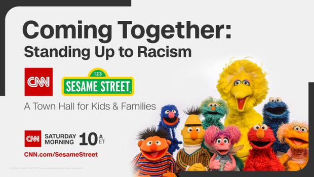 CNN & Sesame Street - Coming Together: Standing Up to Racism, A Town Hall for Kids & Families