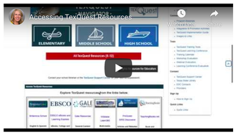 TexQuest Resources to Support Remote Learning
