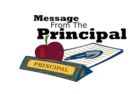 Message from the Principals
