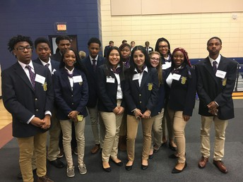 Hutchings College and Career Academy FBLA Students Advance to State