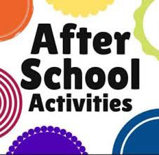 After School Activities Schedule