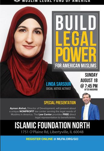 MLFA with Linda Sarsour at IFN
