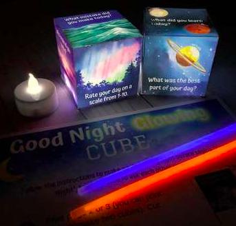 Good Night Glowing Cube