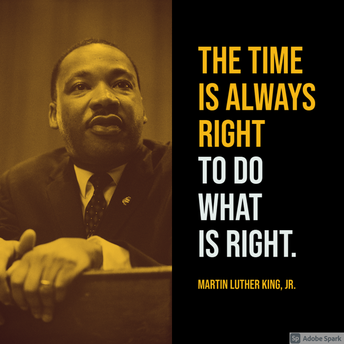 Martin Luther King Jr. Day!