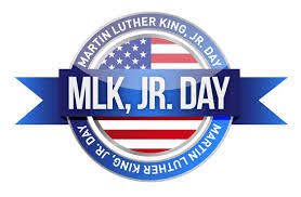 MLK Day - January 21 No School