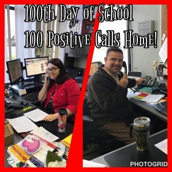100th Day = 100 Calls