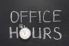 SJS Summer Office Hours