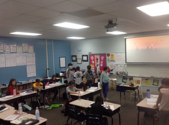 Mrs. Kolzow's 5th Grade Class