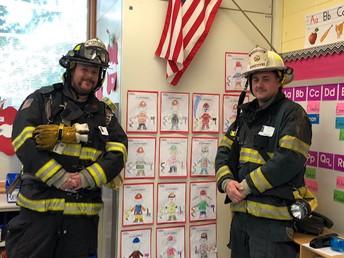Firefighter Ken and Firefighter Jay!