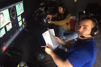 TV Studio Up and Running