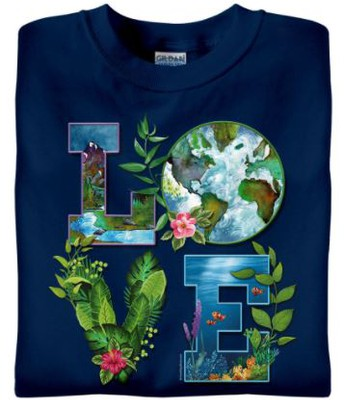 """""""LOVE"""" Earth Day Shirt"""