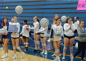 Volleyball finishes strong