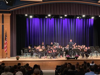 Concert Band Fall Performance