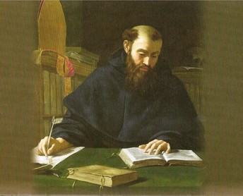 Saint Augustine Writing