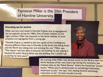 Hamline University's President Miller
