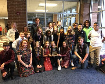 2nd Place in our first year in 4A! Congrats SMS OAP!