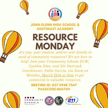 Resource Monday