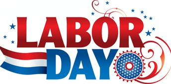 Labor Day - No School Monday, September 2, 2019
