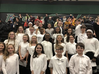 Grizzly Choir Performs in the Staley Feeder Pattern Concert