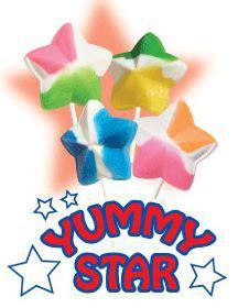 Yummy Star Lollipop Sale