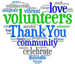 Volunteer Appreciation is on May 23
