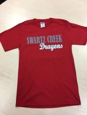 Glitter T-Shirt-Red