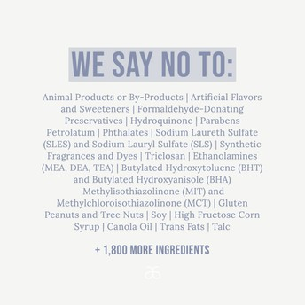 Our Not allowed List has over 2000 ingredients