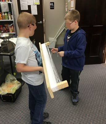 Winding Yarn for the Magic Yarn Project