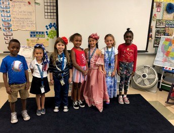 Mrs. Saulnier's Class Celebrates Hispanic Heritage Month
