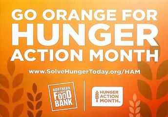 Go Orange for Hunger