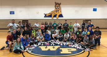 Junior High's October Sock Month