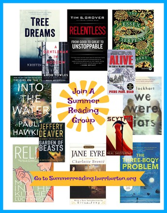It's Not Too Late to Join a Summer Reading Group
