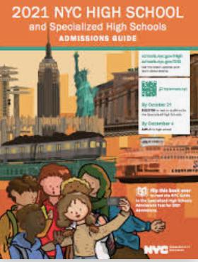 2021 High School Admissions Update