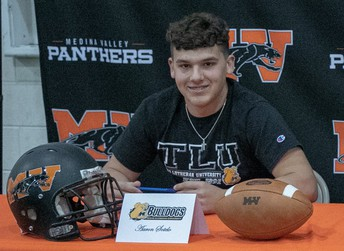 Aaron Sotelo - Football @ Texas Lutheran University