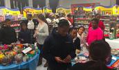 Grade 5 students love the Book Fair!