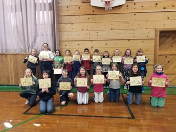 4th-6th Grade Principal's Honor Roll