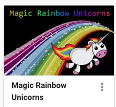 Magic Rainbow Unicorns