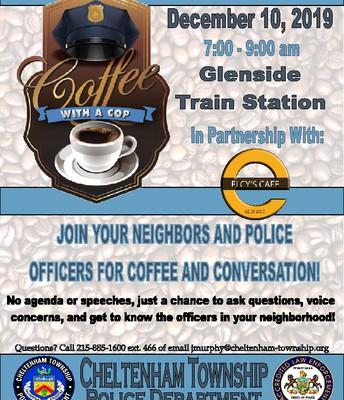 'Coffee with a Cop' @ Elcy's Cafe