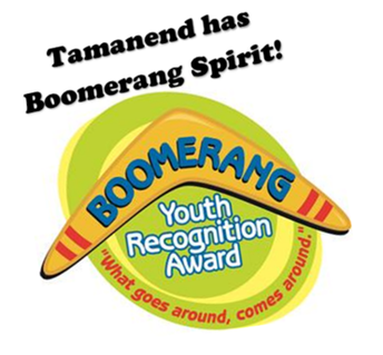 Nominate a Tamanend Student for the Boomerang Youth Recognition Award!