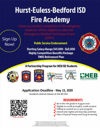 Sophomores: Apply Now for BCTEA Fire Academy