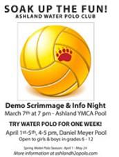 Try Water Polo For A Week!